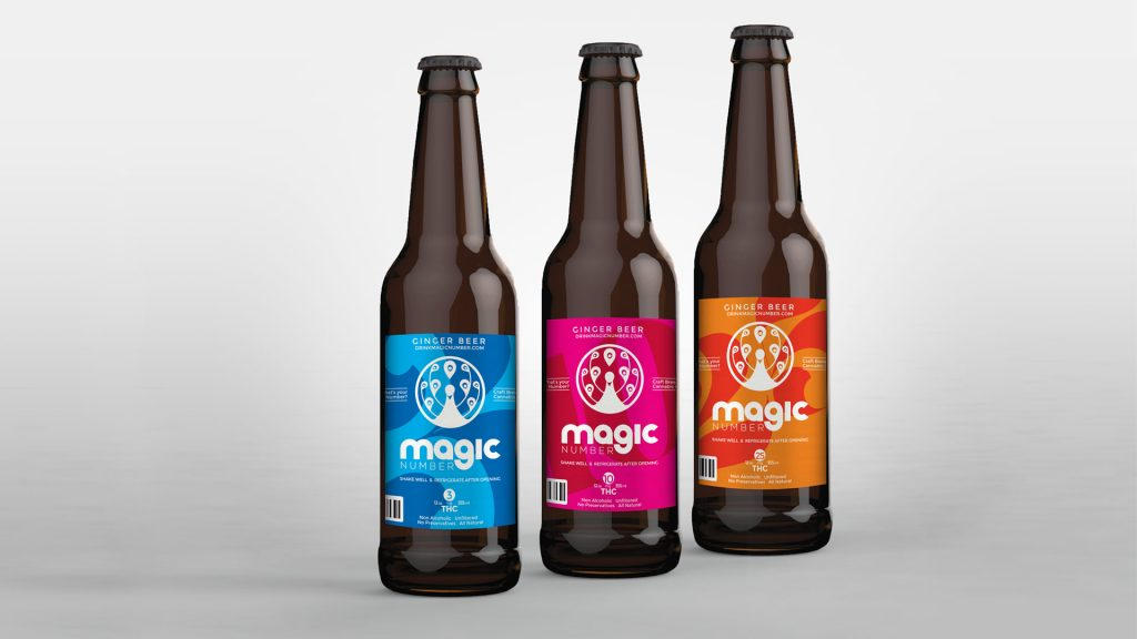 Magic Number Label Design