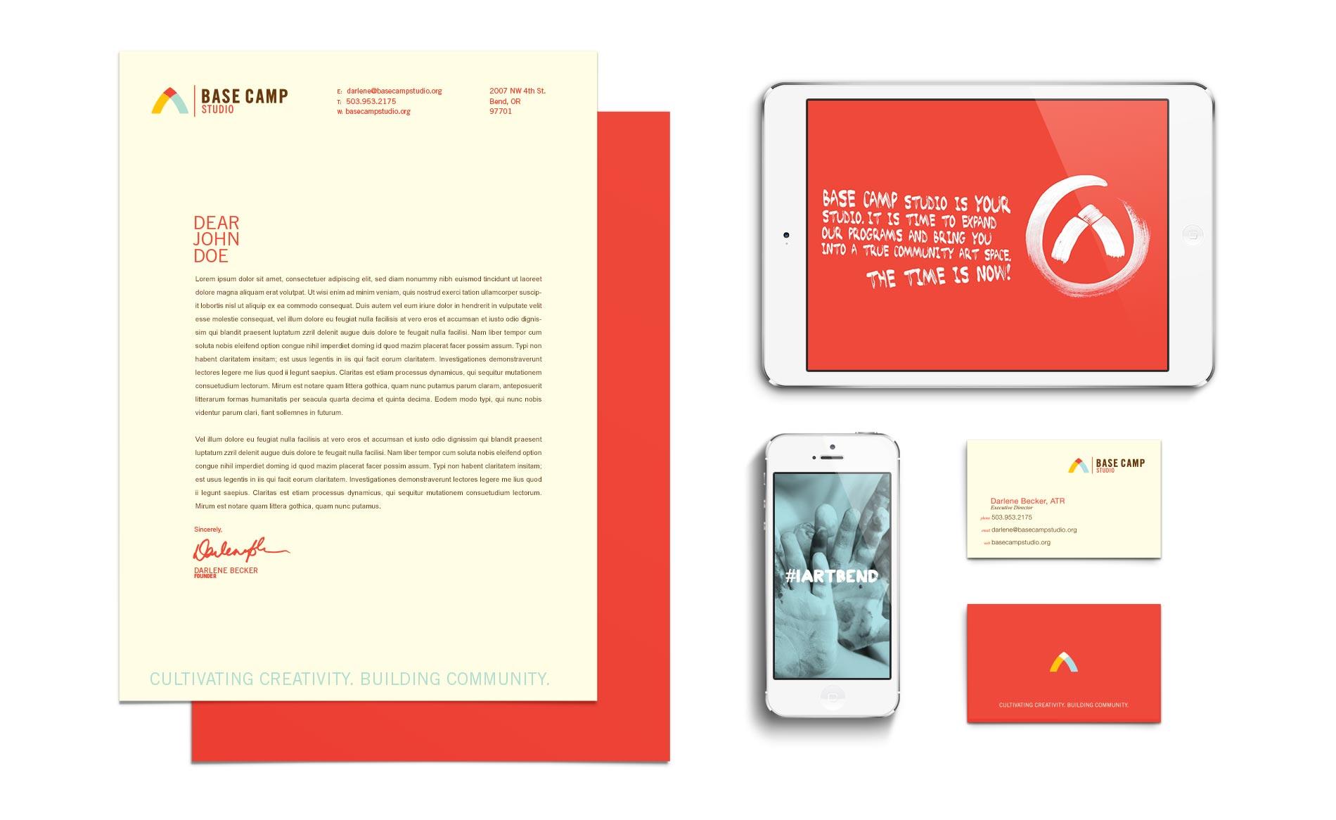Base Camp Studio - Branding Portfolio 2