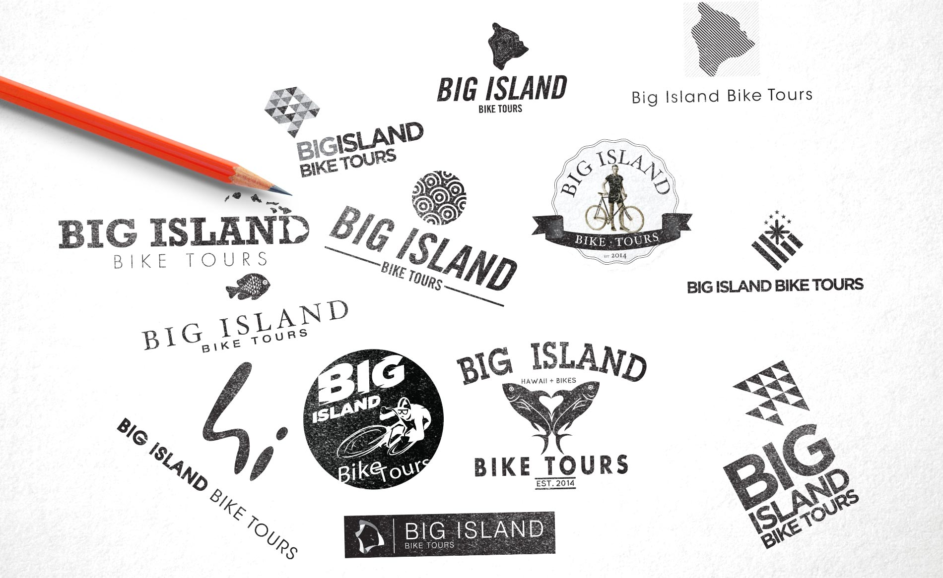 Big Island Bike Tours - Logo Design