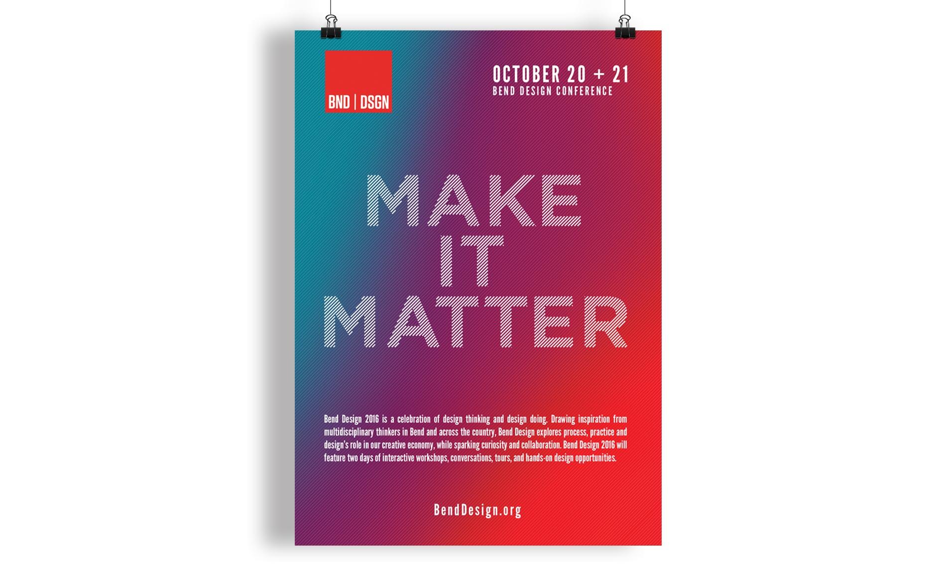 Bend Design Conference - Poster Design