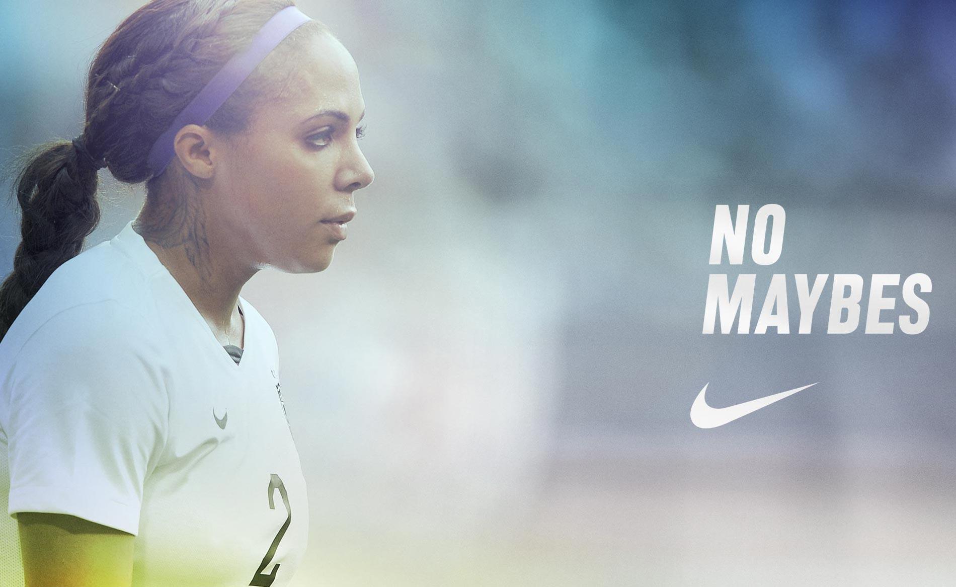 Nike Soccer Social Media Campaign - No Maybes