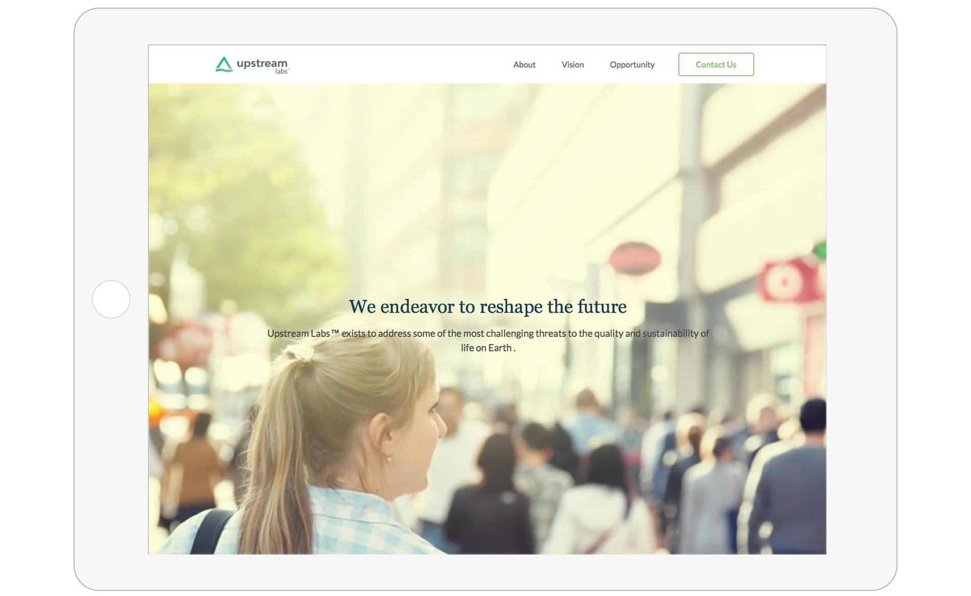 Upstream Labs - Website Development