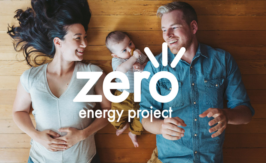 Zero Energy Project - Website Design - Featured Image